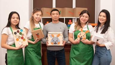 Оur first Tadamon Crowdfunding Academy in Kazakhstan makes a splash