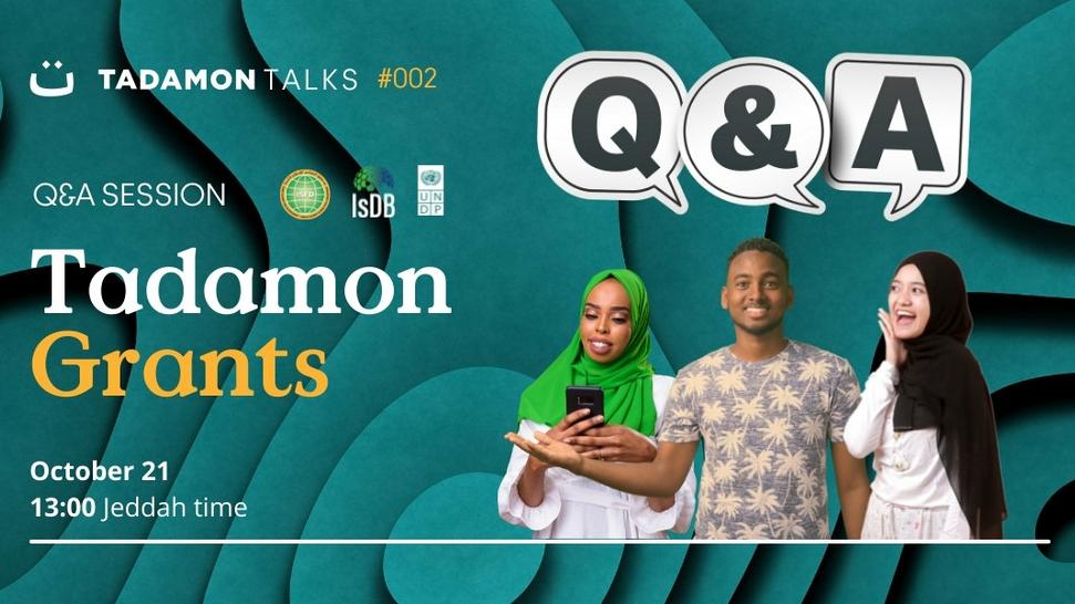Tadamon Talks #02: Q&A session for Tadamon Grants